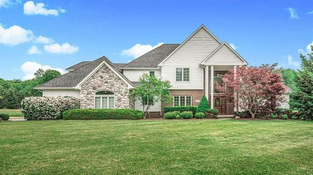 9101 Stoneview Lane, Webster Twp, MI 48189 (#543281389) :: Real Estate For A CAUSE