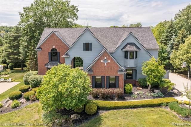 23599 Broadmoor Park Lane, Novi, MI 48374 (#2210043783) :: Duneske Real Estate Advisors