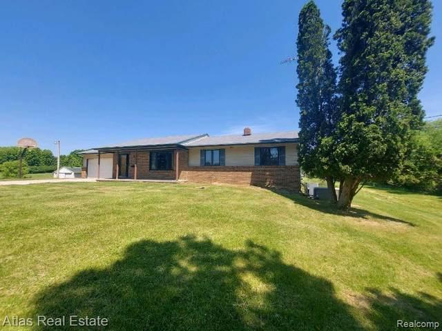 8251 Baldwin Road, Atlas Twp, MI 48438 (#2210044085) :: Real Estate For A CAUSE