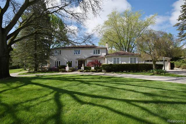 215 Woodberry Drive, Bloomfield Hills, MI 48304 (#2210044254) :: Real Estate For A CAUSE