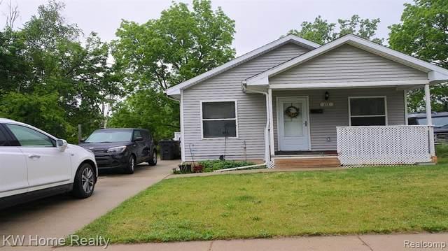 213 Mechanic Street, Pontiac, MI 48342 (#2210044319) :: Duneske Real Estate Advisors