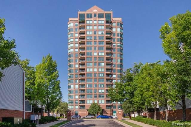 3320 Spinnaker Lane 17E, Detroit, MI 48207 (#2210044789) :: Real Estate For A CAUSE