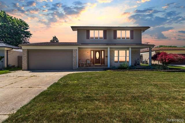 14722 Carmel Drive, Sterling Heights, MI 48312 (#2210045226) :: Robert E Smith Realty
