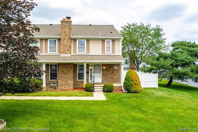 42158 Roscommon Street, Novi, MI 48167 (#2210046498) :: Duneske Real Estate Advisors