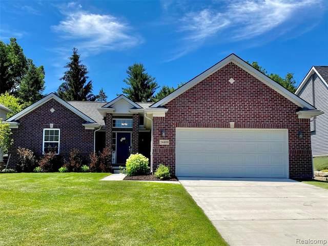 24409 Westchester Drive, Lyon Twp, MI 48178 (#2210046586) :: Duneske Real Estate Advisors