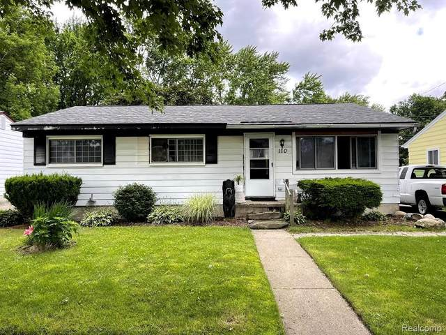 110 W Ypsilanti Avenue, Pontiac, MI 48340 (#2210048177) :: GK Real Estate Team
