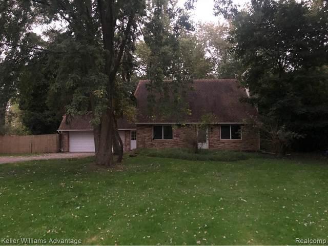 40697 Six Mile Road N, Northville Twp, MI 48168 (#2210048212) :: GK Real Estate Team
