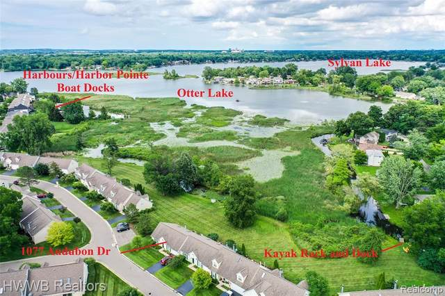1077 Audubon Dr Unit 25, Waterford Twp, MI 48328 (#2210051191) :: Real Estate For A CAUSE