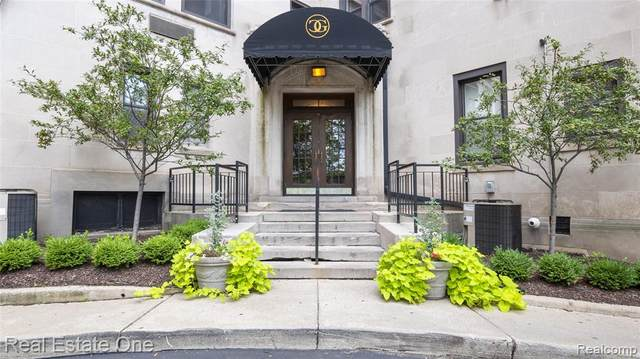 2900 E Jefferson Ave # 8-C1, Detroit, MI 48207 (#2210053036) :: Real Estate For A CAUSE