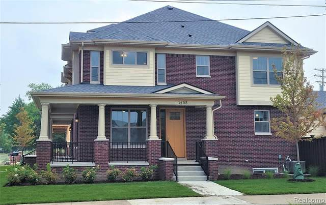 1405 W Canfield Street, Detroit, MI 48208 (#2210054784) :: Real Estate For A CAUSE