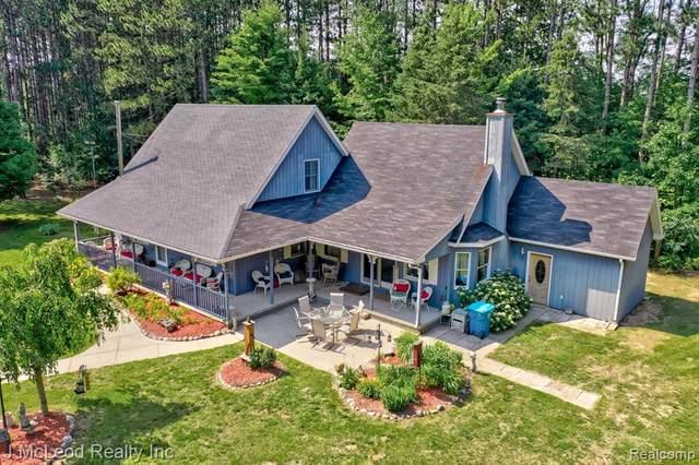 6757 Oak Road, Vassar Twp, MI 48768 (#2210055106) :: The Alex Nugent Team | Real Estate One