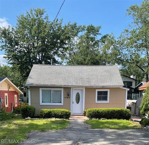 4766 Linwood Street, West Bloomfield Twp, MI 48324 (#2210058131) :: Real Estate For A CAUSE