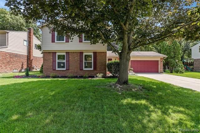 42273 Ladywood Drive, Northville Twp, MI 48168 (#2210058413) :: GK Real Estate Team