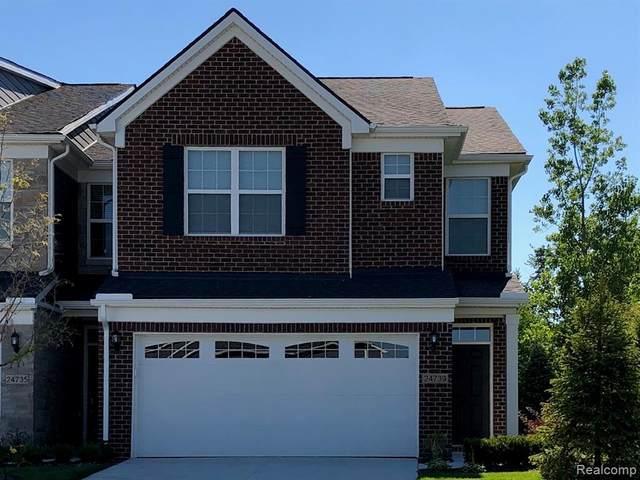 22525 Woodbridge Lane #016, Novi, MI 48375 (#2210058697) :: Novak & Associates