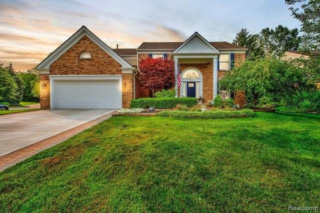 44995 Lightsway Drive, Novi, MI 48375 (#2210058894) :: Duneske Real Estate Advisors
