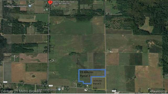 CR 347 Address Not Published, Paw Paw Twp, MI 49079 (#2210061994) :: Robert E Smith Realty