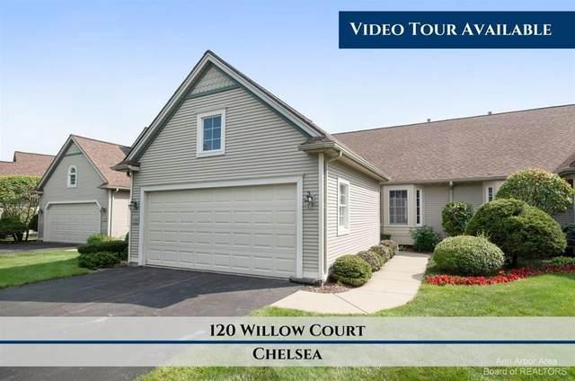 120 Willow Court #20, Chelsea, MI 48118 (#543283174) :: The Vance Group   Keller Williams Domain