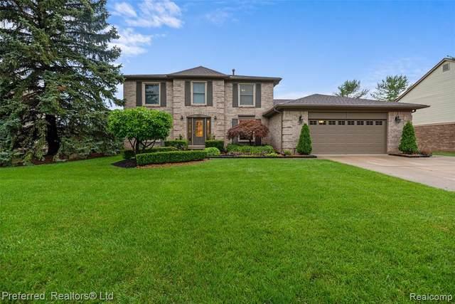 24563 Picara Drive, Novi, MI 48374 (#2210067625) :: Duneske Real Estate Advisors