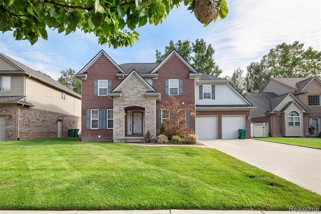 26643 Carly Drive, Brownstown Twp, MI 48174 (#2210068875) :: The Vance Group | Keller Williams Domain