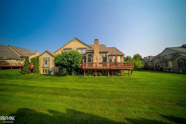 2040 Clearwood Ct, Shelby Twp, MI 48316 (#58050052676) :: National Realty Centers, Inc