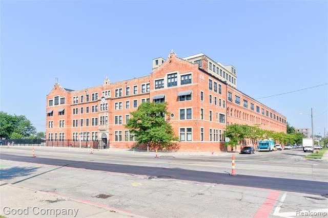6533 E Jefferson Avenue 104J, Detroit, MI 48207 (#2210069871) :: RE/MAX Nexus