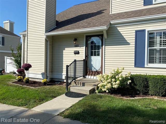 41759 Onaway Drive, Novi, MI 48167 (#2210071127) :: Duneske Real Estate Advisors