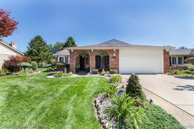 6192 Runnymeade Drive, Canton Twp, MI 48187 (#2210071130) :: GK Real Estate Team