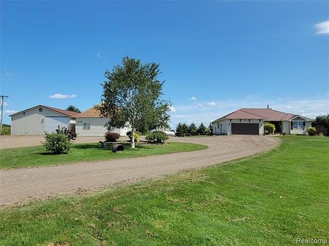 5465 Maple Valley Road, Flynn Twp, MI 48416 (#2210072142) :: GK Real Estate Team