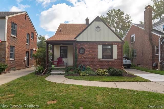 844 N York Street, Dearborn, MI 48128 (#2210072300) :: GK Real Estate Team