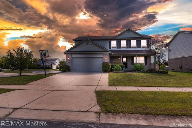 26355 Morningview Drive, Brownstown Twp, MI 48174 (#2210073414) :: GK Real Estate Team