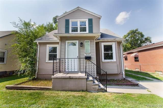 5660 Kingston Street, Dearborn Heights, MI 48125 (#2210074141) :: The Vance Group | Keller Williams Domain