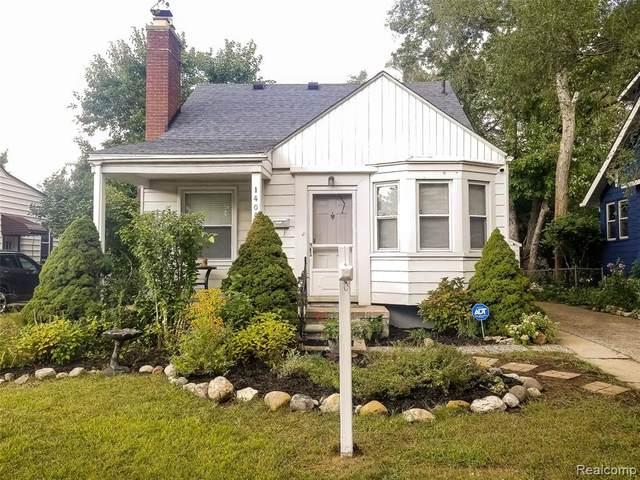 1404 W Troy Street, Ferndale, MI 48220 (#2210074449) :: The Vance Group   Keller Williams Domain