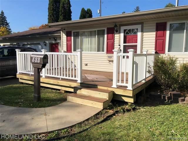 533 Sequoia Drive, Davison, MI 48423 (#2210077333) :: GK Real Estate Team