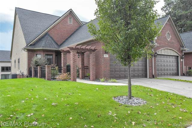9822 Nature Valley Drive, Brighton Twp, MI 48114 (#2210077351) :: Real Estate For A CAUSE