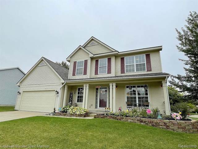 3106 Stillriver Drive, Howell, MI 48843 (#2210077600) :: Real Estate For A CAUSE