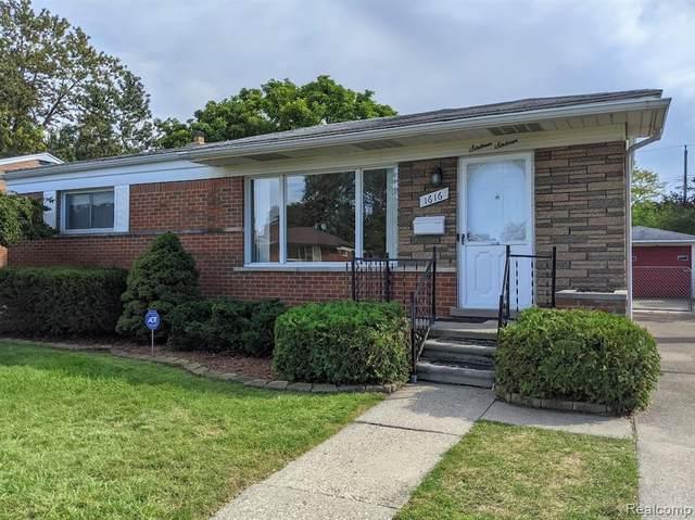 1616 Beverly Ave, Madison Heights, MI 48071 (#2210077805) :: Duneske Real Estate Advisors
