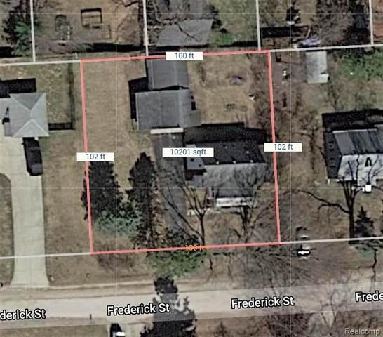 46078 Frederick - Lot Street, Northville Twp, MI 48167 (#2210077809) :: GK Real Estate Team