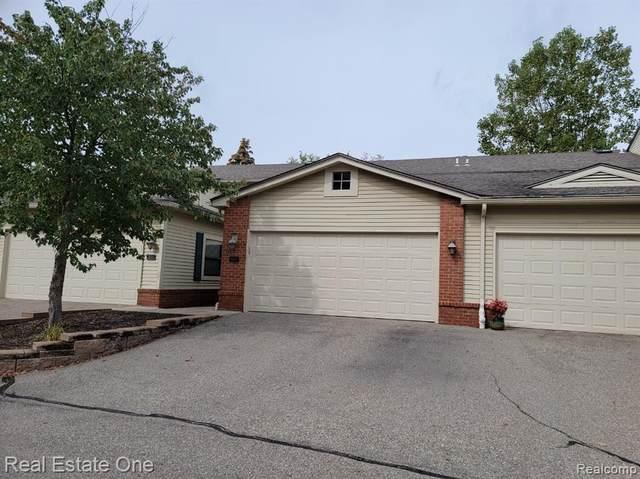 5628 W Drake Hollow Drive #58, West Bloomfield Twp, MI 48322 (#2210077830) :: RE/MAX Nexus