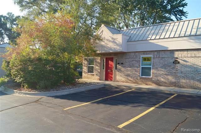 4010 W Walton Blvd Ste A Boulevard, Waterford Twp, MI 48329 (#2210078158) :: National Realty Centers, Inc
