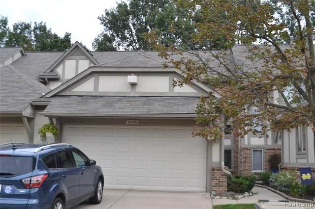 42090 Saratoga Circle, Canton Twp, MI 48187 (#2210079111) :: Real Estate For A CAUSE