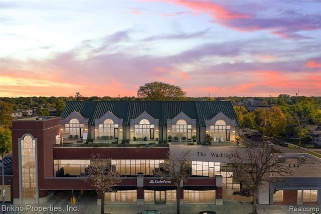 1021 S Washington Ave Unit H Avenue S, Royal Oak, MI 48067 (#2210084158) :: Real Estate For A CAUSE