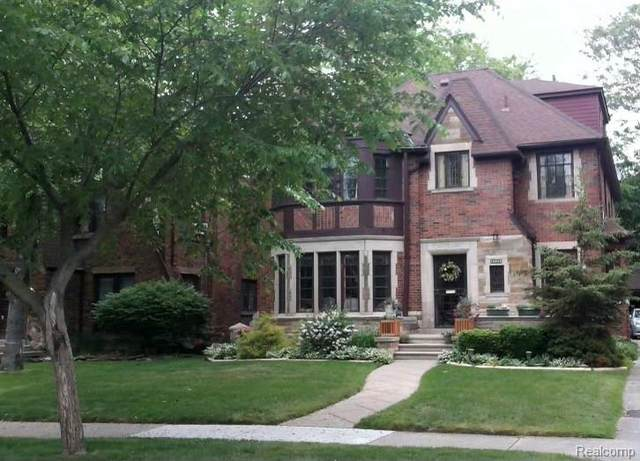 18434 Muirland Street, Detroit, MI 48221 (#2210085177) :: The BK Agency