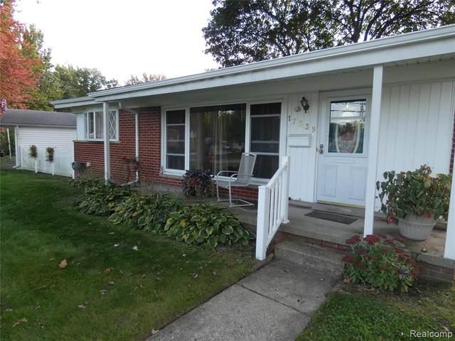 17539 Pershing Street, Livonia, MI 48152 (#2210088698) :: National Realty Centers, Inc