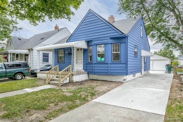 825 White Avenue, Lincoln Park, MI 48146 (#2210090154) :: Real Estate For A CAUSE