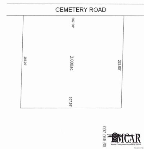 0 Cemetery Road, Erie, MI 48133 (#57003449791) :: Duneske Real Estate Advisors