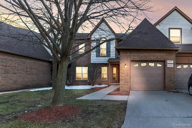 41555 Copper Creek Drive, Canton Twp, MI 48187 (#2210013260) :: Real Estate For A CAUSE