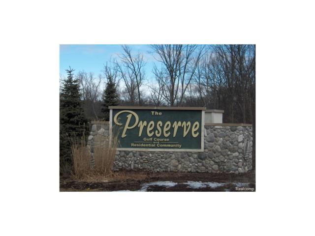 UNIT 51 Preserve, Tyrone Twp, MI 48430 (#214124165) :: RE/MAX Classic