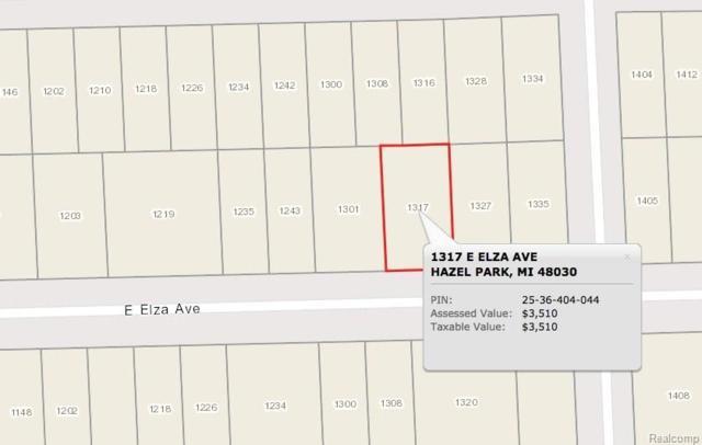 1317 E Elza Avenue, Hazel Park, MI 48030 (#217102061) :: RE/MAX Nexus