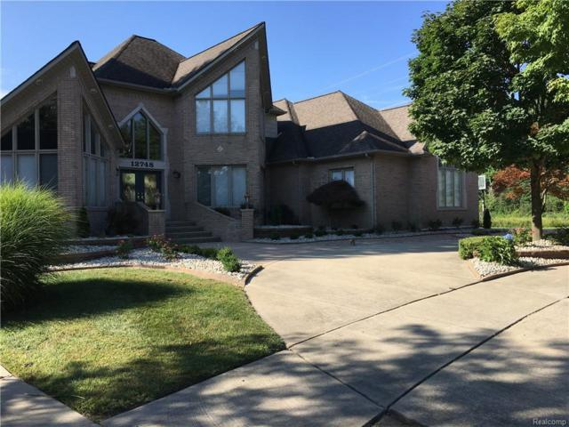 12748 Towering Oaks Drive, Shelby Twp, MI 48315 (MLS #217090977) :: The Toth Team