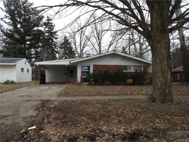 1813 Briarwood Drive, Flint, MI 48507 (#217104422) :: Duneske Real Estate Advisors